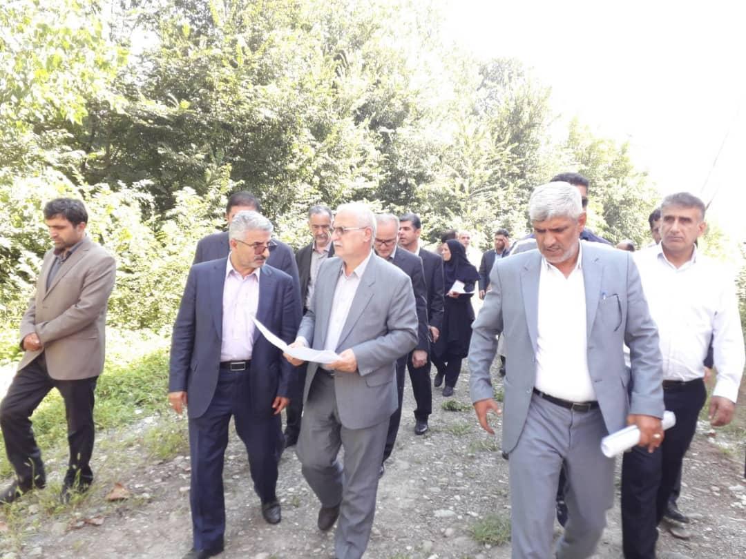 بازدید معاون عمرانی استانداراز شهرستان